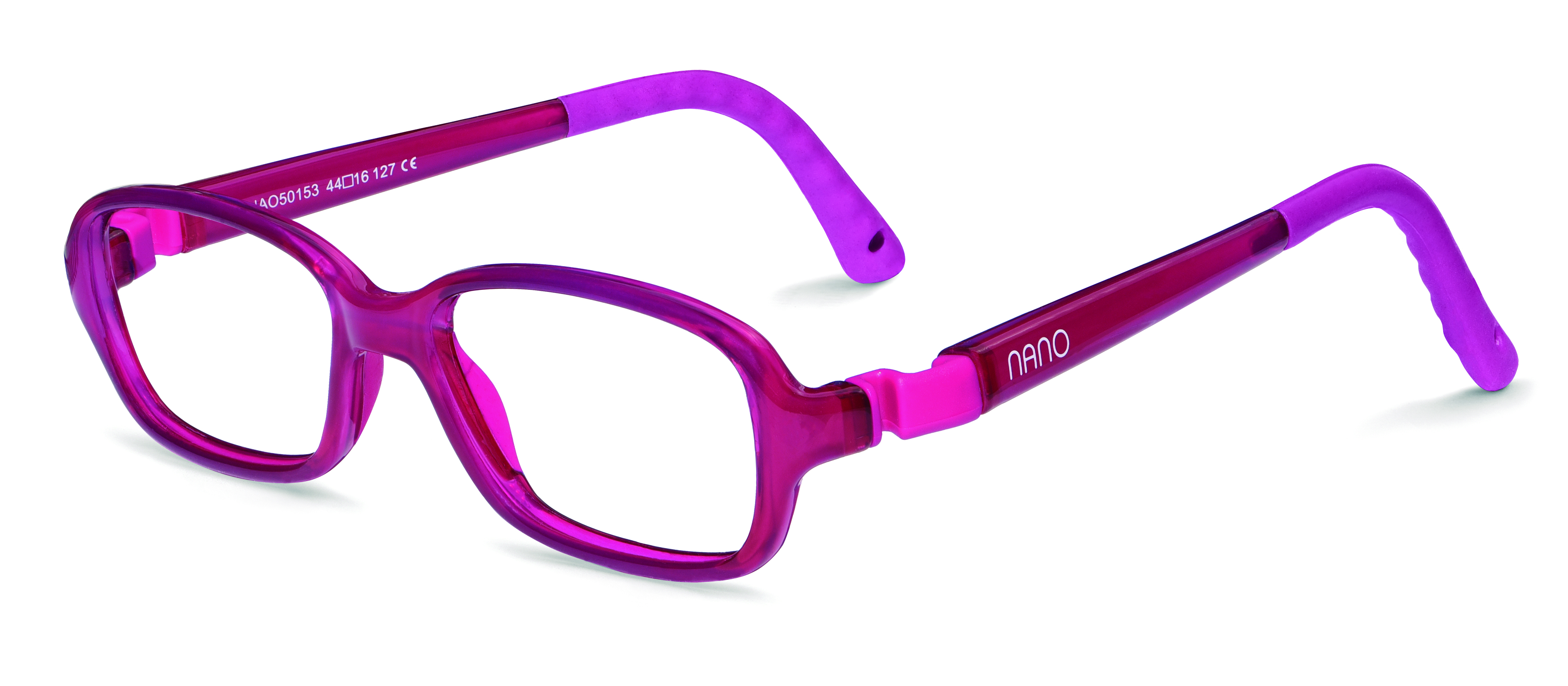 b6548c91b7 Nano NAO50153 Re-Play Kids Eyeglasses Raspberry Raspberry Eye Size 44-15  (6-8 Years) NAO50153 - Optiwow