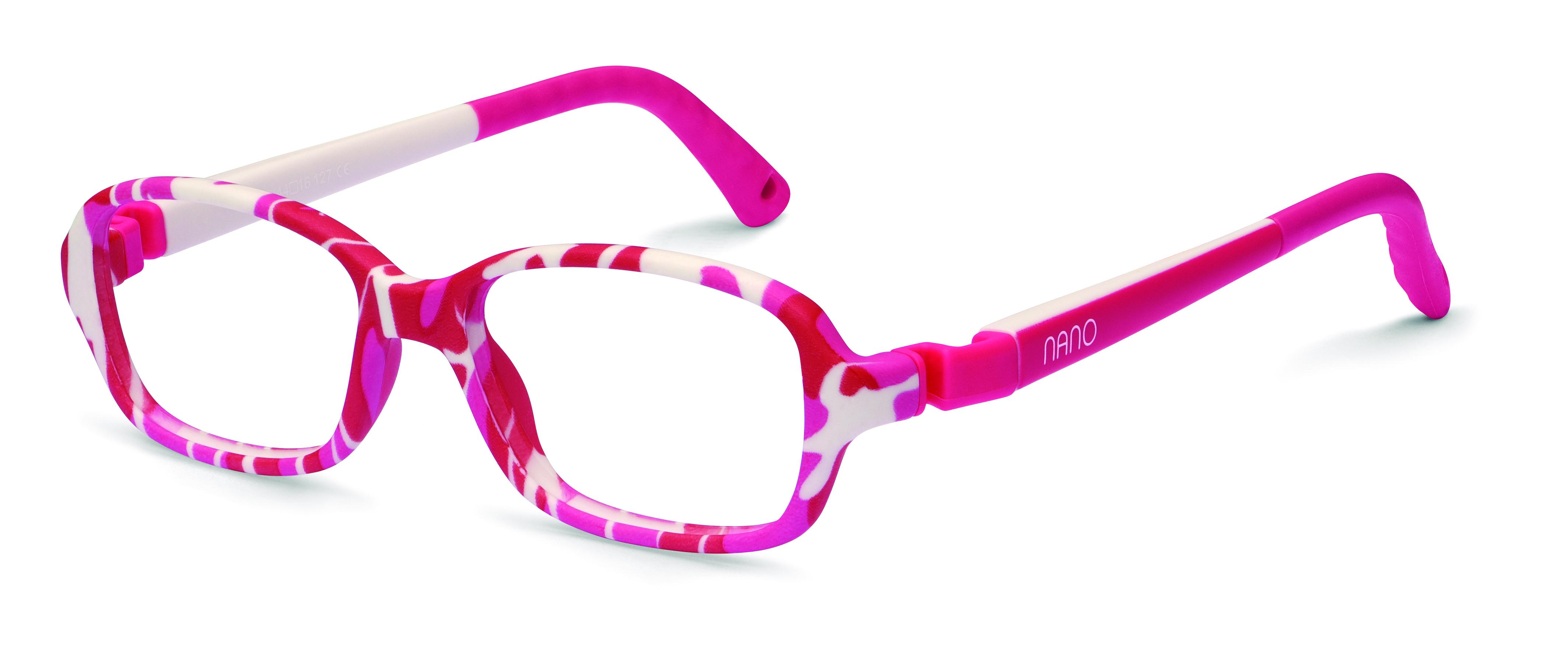8818be2e59 Nano NAO50155 Re-Play Kids Eyeglasses Camouflage Pink White Eye Size 44-15  (6-8 Years) NAO50155 - Optiwow