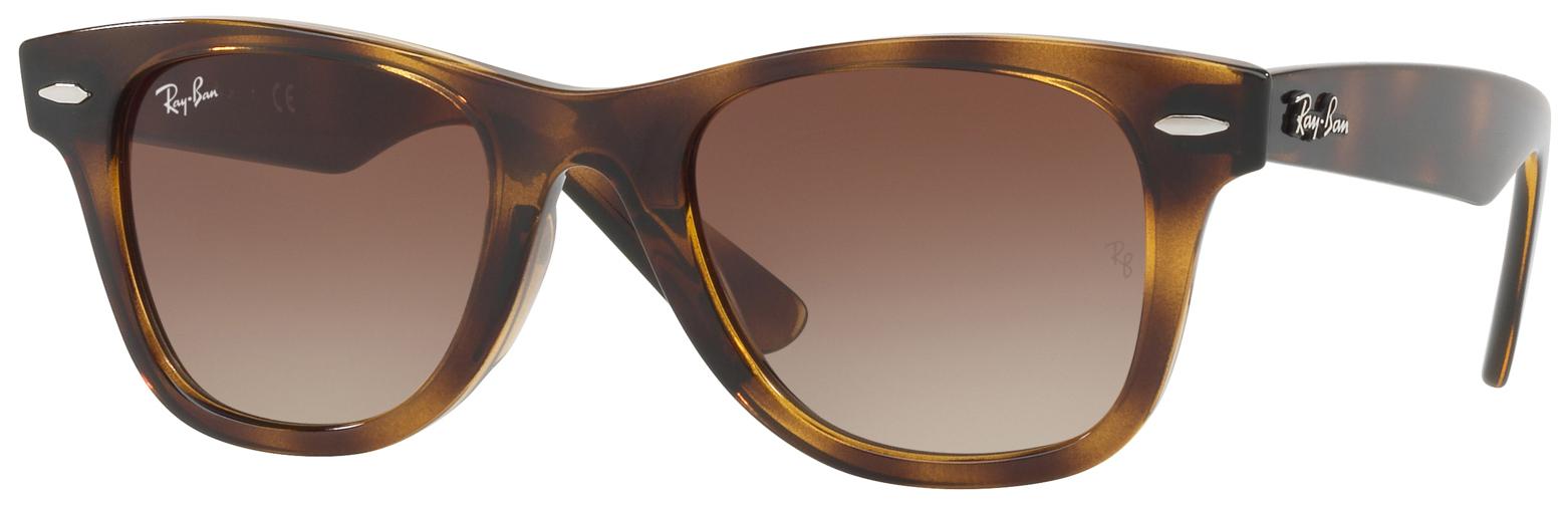 68fcf51e8d0 Ray-Ban RJ9066S Wayfarer Kids Junior Sunglasses Tortoise Brown Gradient  RJ9066S 152 13 - Optiwow