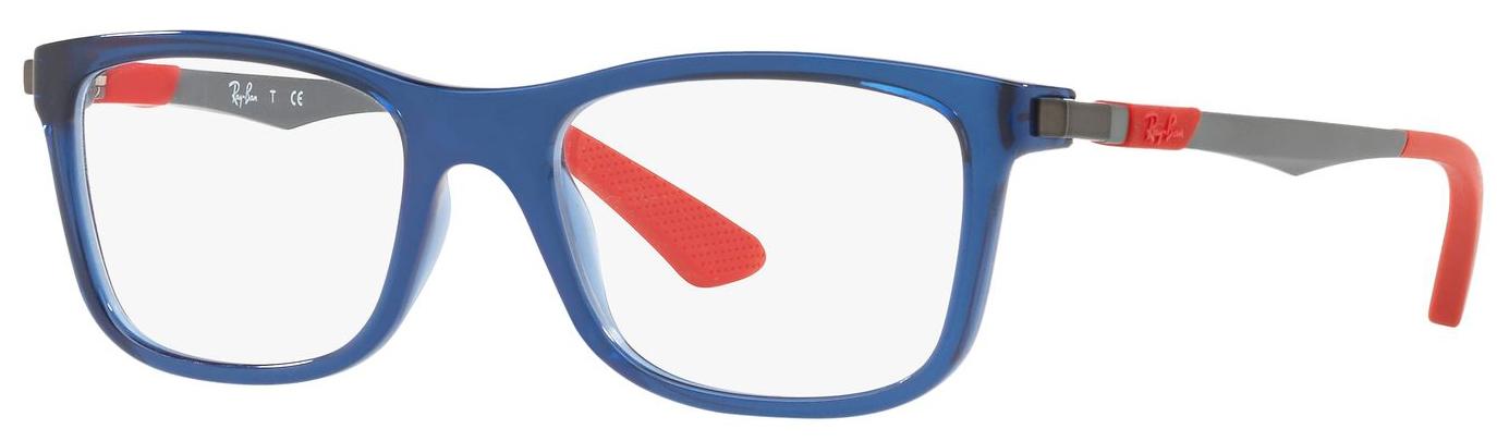 7eca584f6c Ray-Ban Junior RY1549-3734 Kids Glasses Transparent Blue RY1549-3734 -  Optiwow