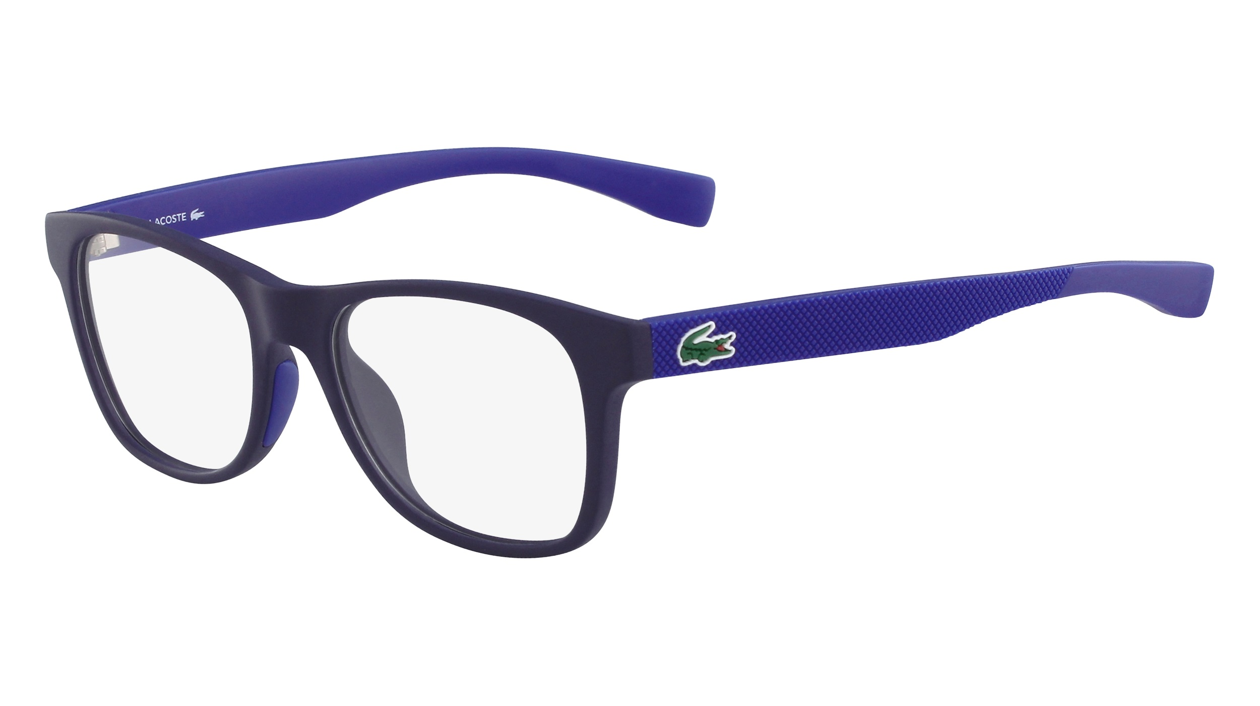 97a09409767 Lacoste L3620-424 Kids Eyeglasses Matte Blue L3620-424 - Optiwow