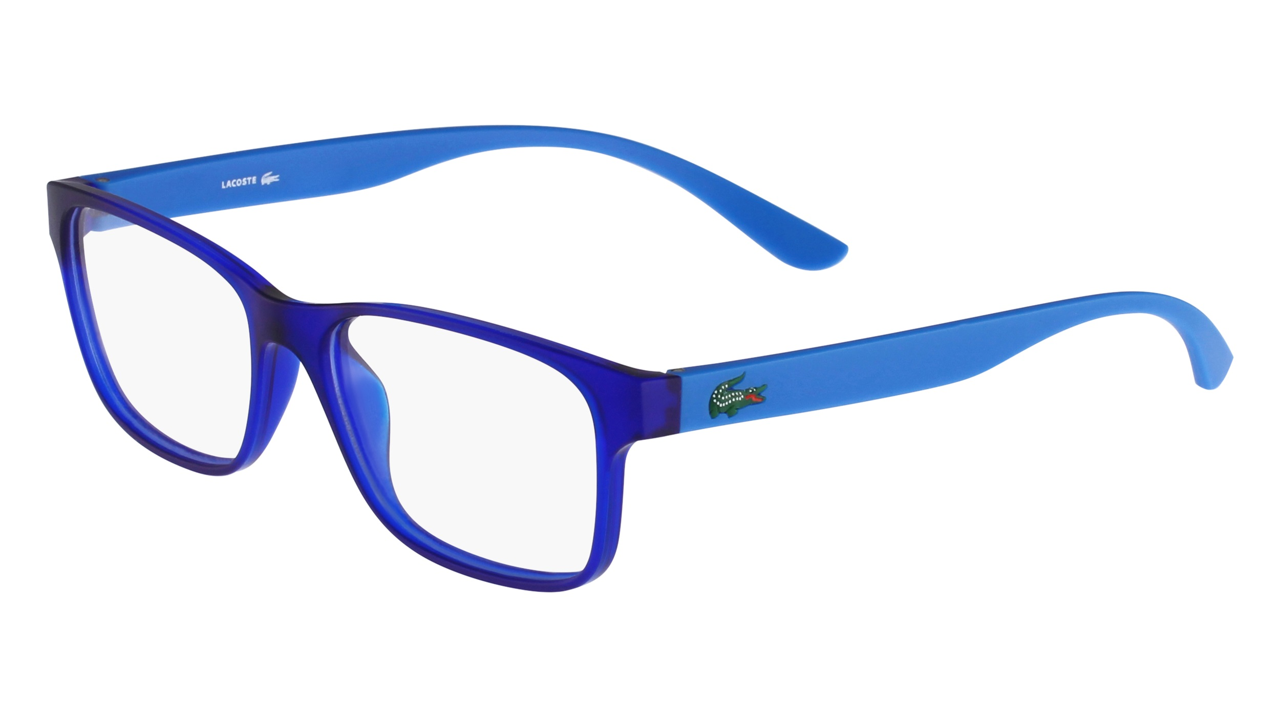 1a04cd8a258 Lacoste L3804B-467 Kids Eyeglasses Mid Blue Matte L3804B-467 - Optiwow
