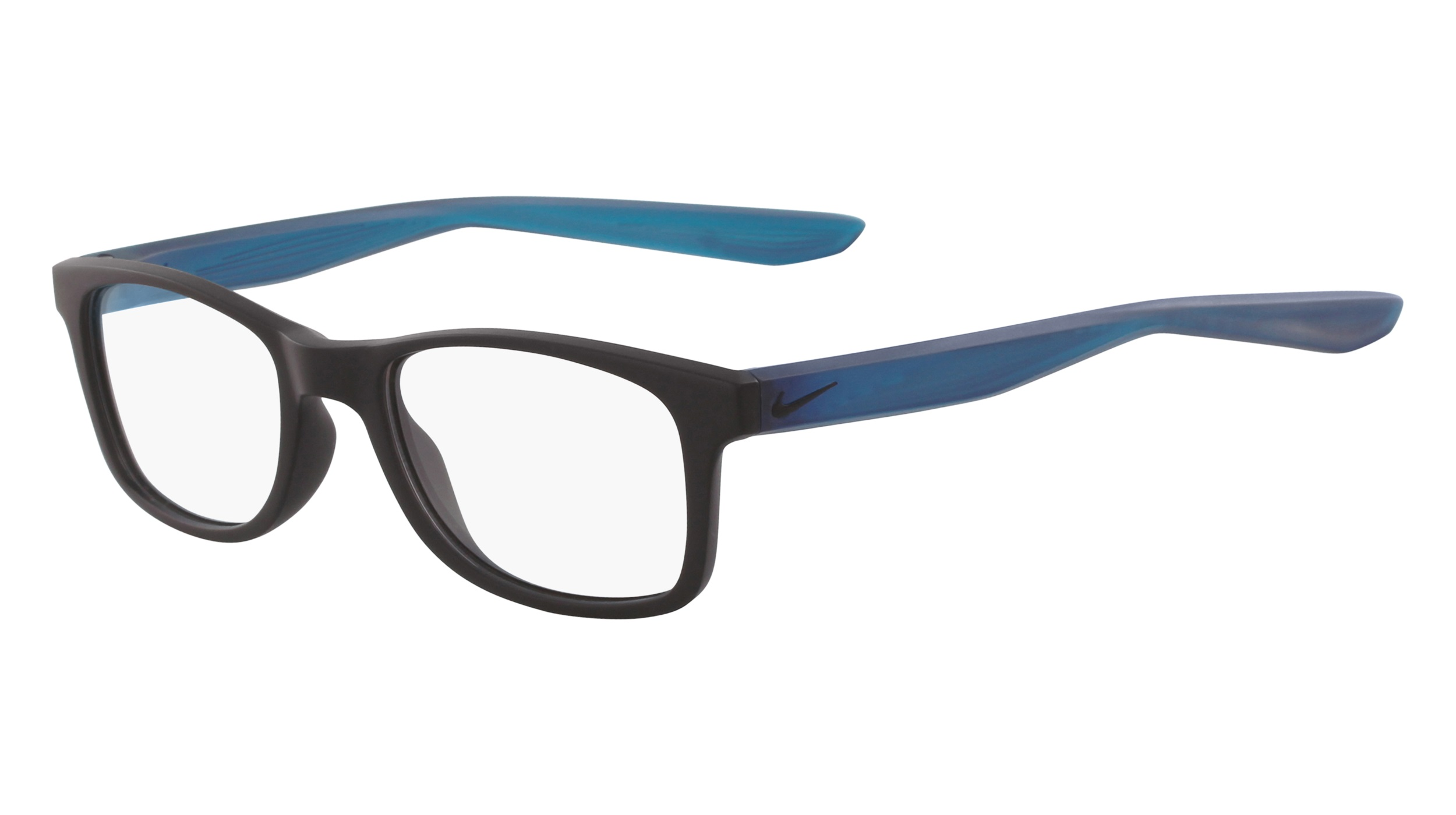 892330815ae3 Nike 5004-004 Kids Eyeglasses Matte Black Blue Nike5004-004 - Optiwow