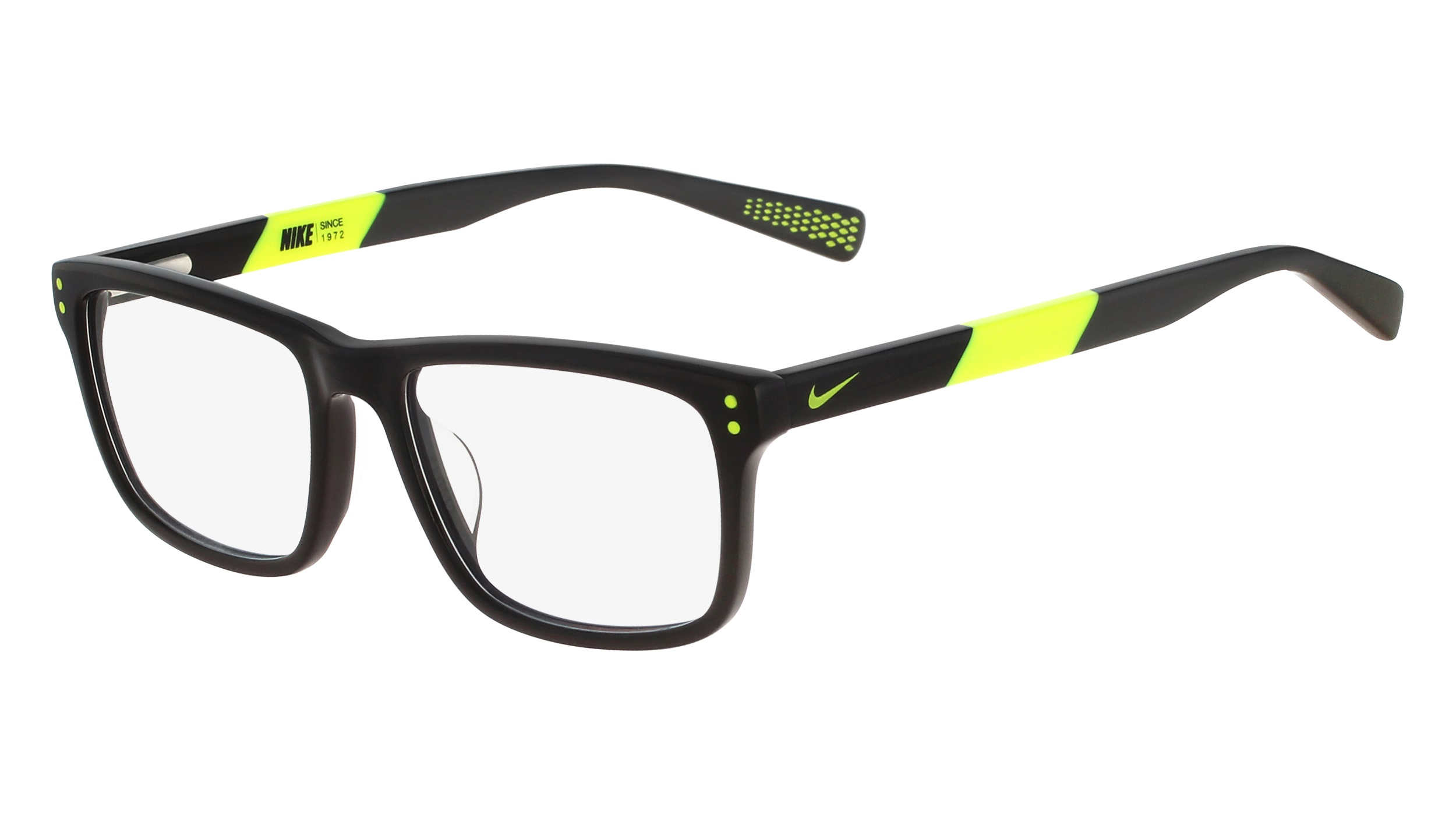 75755da8ad71 Nike 5536-010 Kids Eyeglasses Black Volt Nike5536-010 - Optiwow
