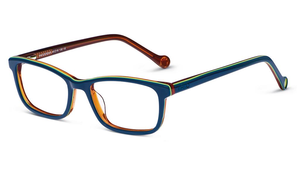 db9fdb04879 Kids Glasses - Navy Nano Vista - Optiwow