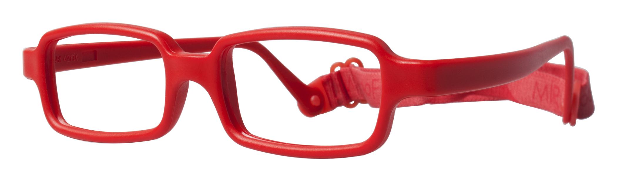 Miraflex New Baby 4 Eyeglasses Red I
