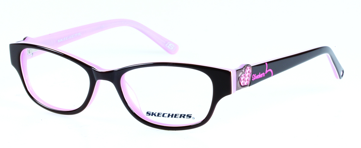 Skechers SK1524 Kids Glasses Brown/Pink SK1524 E90 - Optiwow
