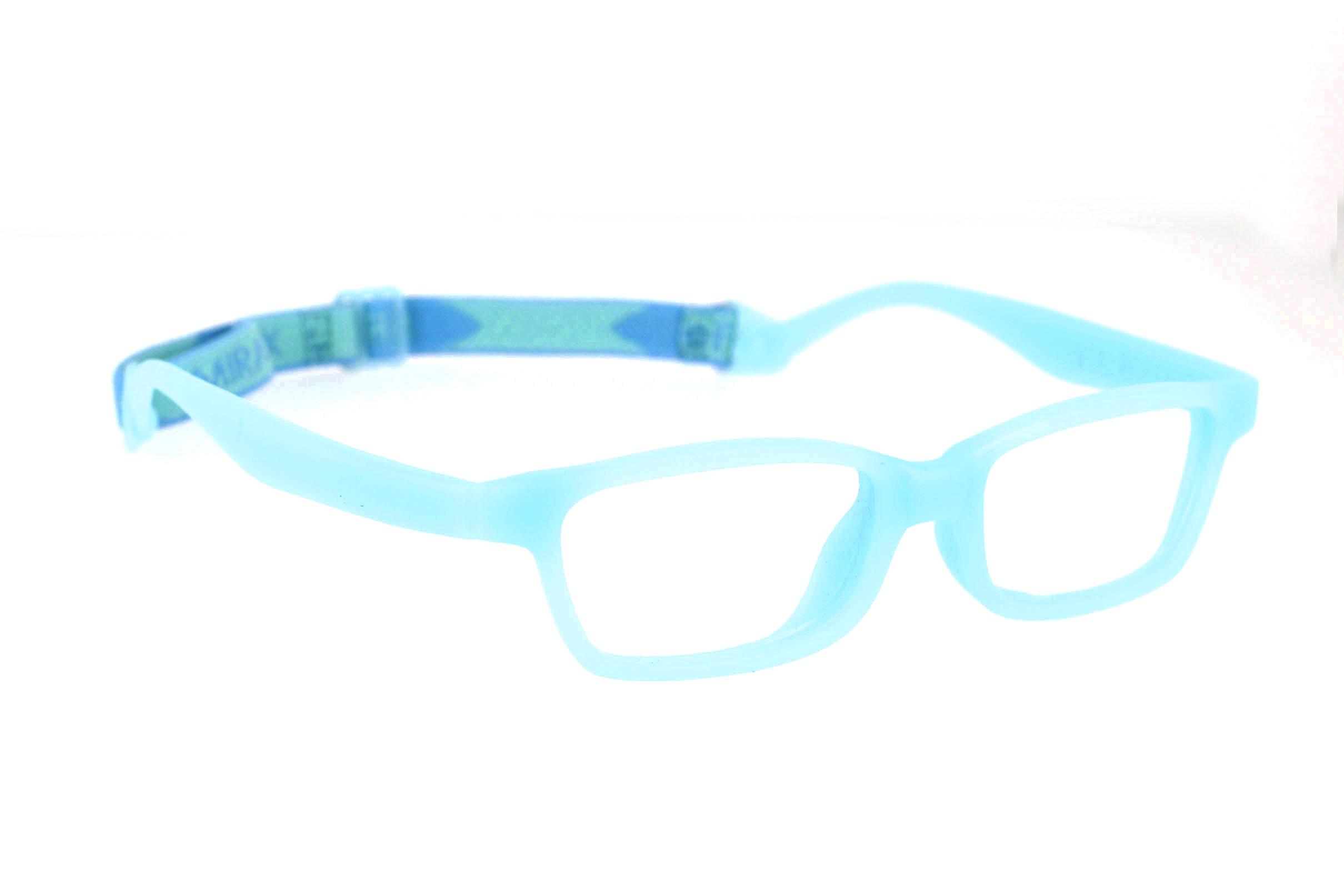 076170af1b5 Miraflex Mayan 39 Eyeglasses Clear Blue-EC Mayan 39-EC - Optiwow