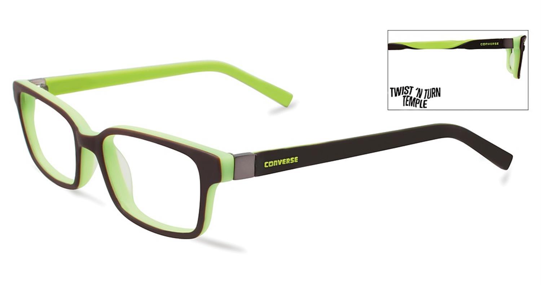 Converse Kids Eyeglasses K020 Brown Converse K020 BR - Optiwow