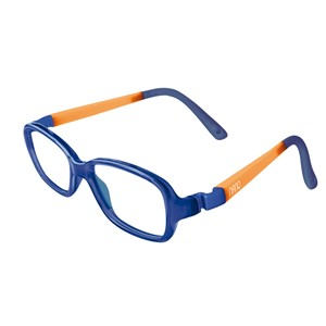 Nano NAO50033 Re-Play Kids Eyeglasses Marine Trans/Glowing Orange Eye Size 42-15