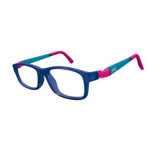 Nano NAO571244 Crew Kids Eyeglasses Marine Trans/Glowing Blue Eye Size 44-16