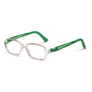 Nano NAO50103 Re-Play Kids Eyeglasses Crystal/Green Eye Size 44-15