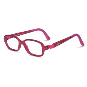 Nano NAO50153 Re-Play Kids Eyeglasses Raspberry/Raspberry Eye Size 44-15