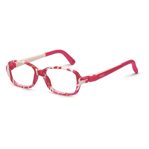 Nano NAO50055  Re-Play Kids Eyeglasses Camouflage Pink/White Eye Size 42-15