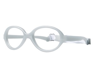Miraflex Baby One 37 Eyeglasses Clear Gray-JC