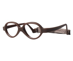 Miraflex Baby One 37 Baby Glasses Milk Chocolate-M