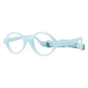 Miraflex Baby Lux Eyeglasses Clear Blue-EC
