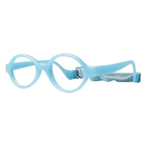 Miraflex Baby Lux Eyeglasses Light Blue Pearl-EP