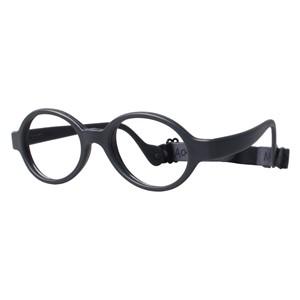 Miraflex Baby Lux Eyeglasses Dark Gray-J