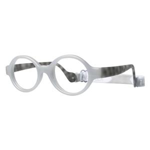 Miraflex Baby Lux Eyeglasses Clear Gray-JC
