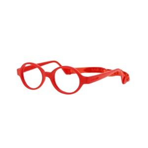 Miraflex Baby Lux Eyeglasses Red-I