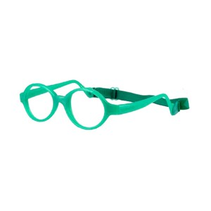 Miraflex Baby Lux Eyeglasses Clear Green Pearl-VCP