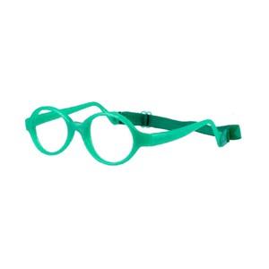 Miraflex Baby Lux Eyeglasses Clear Green Pearl-VCP