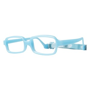 Miraflex New Baby 1 Eyeglasses Light Blue Pearl-EP
