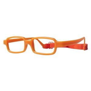 Miraflex New Baby 1 Eyeglasses Bright Orange-IN