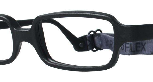 Miraflex New Baby 1 Eyeglasses Black-JS