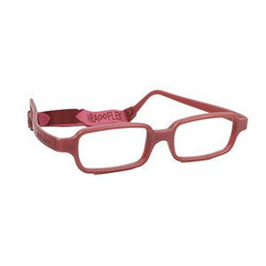 Miraflex New Baby 1 Eyeglasses Burgundy Metallic-KM