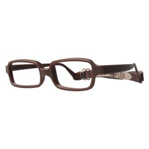 Miraflex New Baby 1 Eyeglasses Milk Chocolate-M