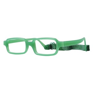 Miraflex New Baby 1 Eyeglasses Clear Green-VC