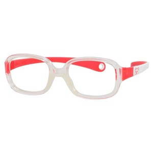 Kids By Safilo Sa0002 Eyeglasses Crystal White Red 0GU8
