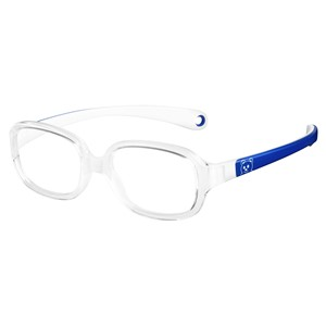 Kids By Safilo Sa0002 Eyeglasses Crystal Blue 0R85