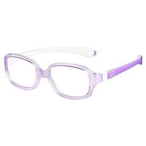 Kids By Safilo Sa0002 Eyeglasses Lilac White 0R86