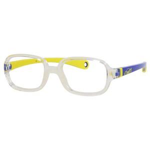 Kids By Safilo Sa0003 Eyeglasses Crystal Blue Yellow 0GUG