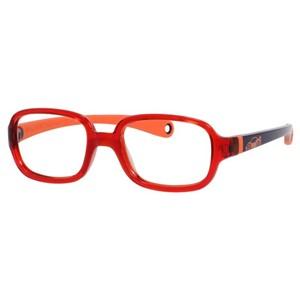 Kids By Safilo Sa0003 Eyeglasses Red Blue Orange 0GUM