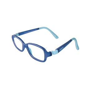 Nano NAO50038  Re-Play Kids Eyeglasses  Blue/Blue Eye Size 42-15