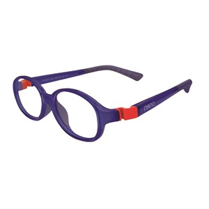 Nano NAO51542  Popping Kids Eyeglasses Marine/Red Eye Size 42-15