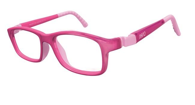 Nano NAO57546 Crew Kids Eyeglasses Pink/Pink Eye Size 46-17