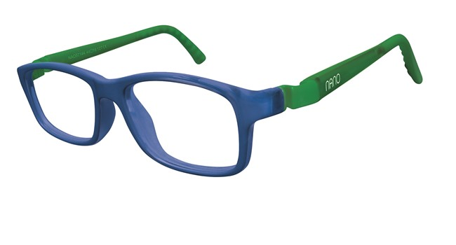 Nano NAO57646 Crew Kids Eyeglasses Blue/Green Eye Size 46-17