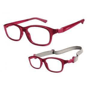 Nano NAO52446 Arcade Kids Eyeglasses Burgundy/Burgundy Eye Size 46-17
