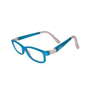 Nano NAO50334 Game-Over Kids Eyeglasses Light Blue/Grey Eye Size 48-17