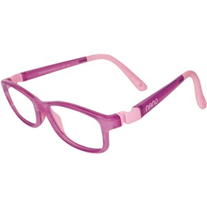 Nano NAO50339 Game-Over Kids Eyeglasses Purple/Violet Eye Size 48-17