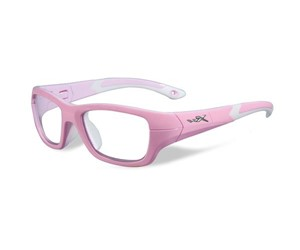 Wiley X Youth Force WX Flash YFFLA01  Eyeglasses Rock Candy Pink