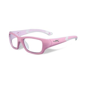 Wiley X Youth Force WX Flash YFFLA01 Kids Sports Glasses Rock Candy Pink