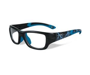 Wiley X Youth Force WX Flash YFFLA04  Eyeglasses Matte Black/Electric Blue