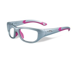 Wiley X Youth Force WX Victory YFVIC01 Eyeglasses Silver/Magenta