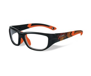 Wiley X Youth Force WX Victory YFVIC04 Eyeglasses Matte Black/Sonic Orange